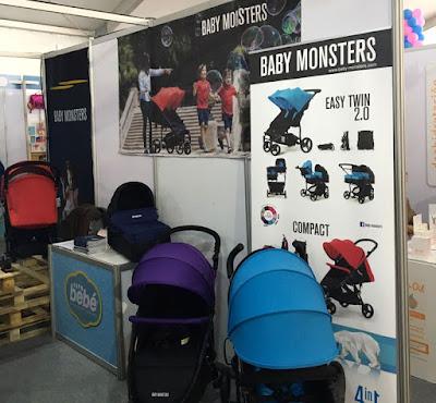 baby monsters feria en Chile