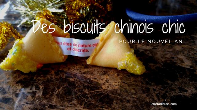 Des biscuits chinois chic pour le Nouvel An