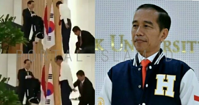 Viral Video Jokowi Jatuhkan Jas Kepresidenan di Korea, Elit Demokrat: Ini PERTANDA!
