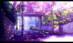anime morning street walk wallpapers lovely sweet