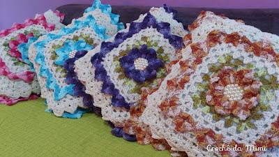 Decoração de croche
