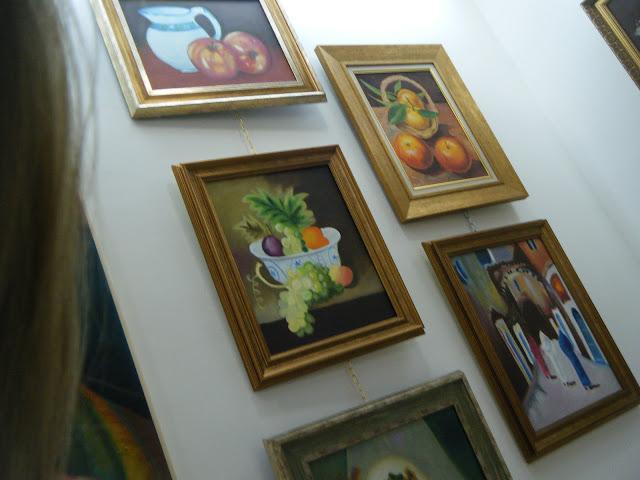Les peintures de mes élèves à l'expo 17