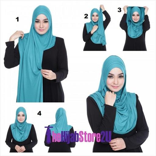 tutorial kreasi hijab pashmina instan terbaru 2017/2018