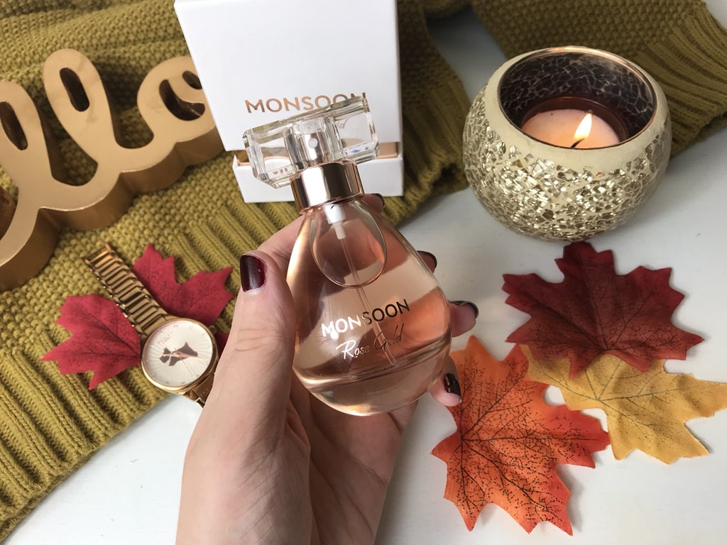 Rose Gold Monsoon Perfume