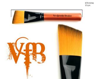 in image of Ve Neils Favorite Brushes in Slant Tip
