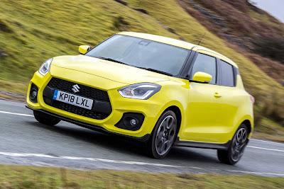 Suzuki Swift Sport Yellow Rev Tampil Sporty dan Dinamis
