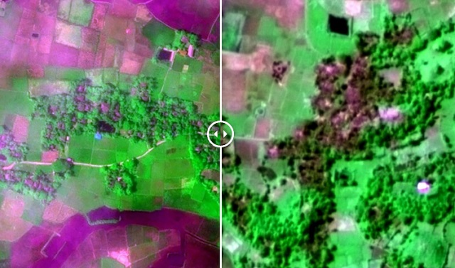 Imej Satelit Bukti Kampung Di Rakhine Dibakar Rejim Myanmar