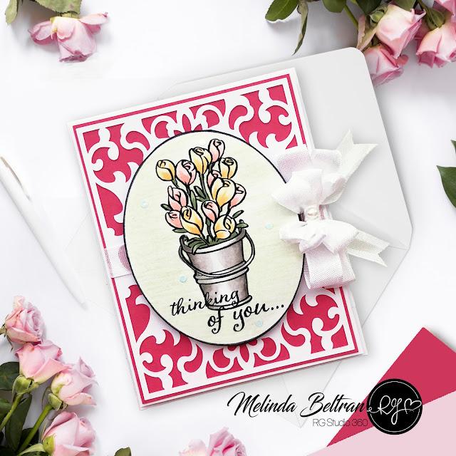 Melinda Beltran - RGStudio360 Stamped Handmade Card