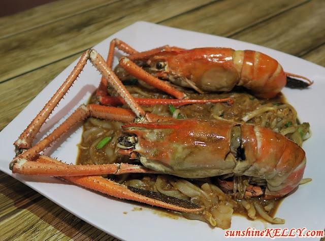 Affordable Udang Galah Dishes, The Nai Café, Denai Alam