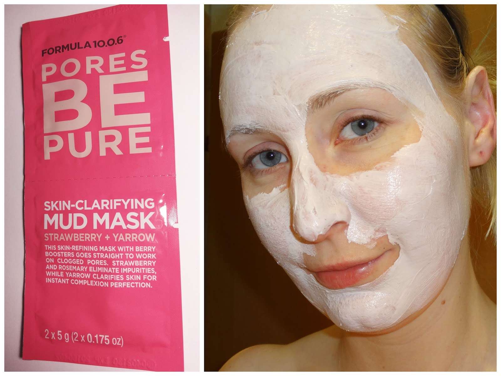 Formula 10.0.6 - Pores Be Pure Skin-Clarifying Mud Mask (Strawberry + Yarrow)