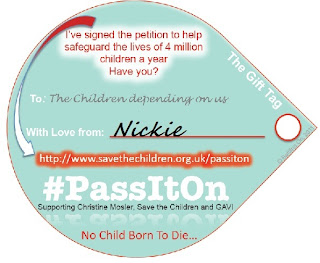 #passiton No Child Born To Die