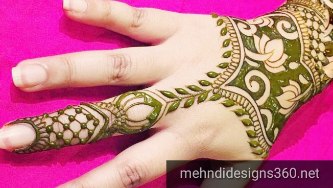 Simple mehndi designs photos - Fancy Fashion Points