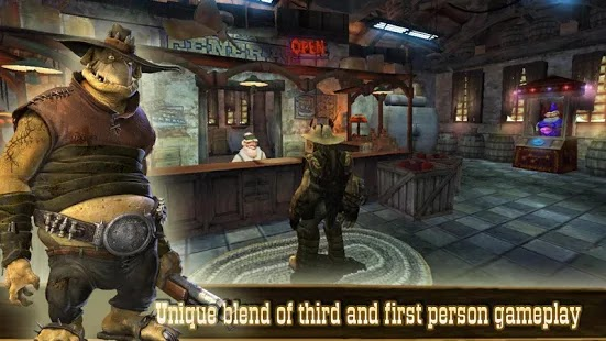 Oddworld: Stranger's Wrath Apk+Data Free on Android Game Download