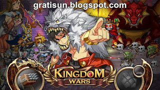 Kingdom Wars Mod v1.4.4 Apk Unlimited Gold + Diamond