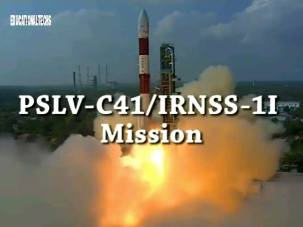 ISRO Successfully Launched IRNSS -1I