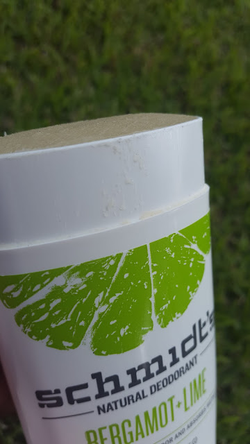 Schmidt's Natural Deodorant 'Bergamot + Lime' www.modenmakeup.com