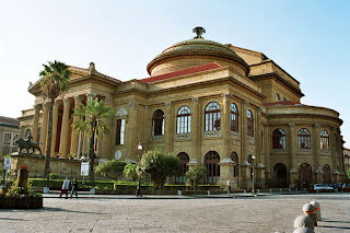 Palermo's Teatro Massimo is the largest opera house in Italy