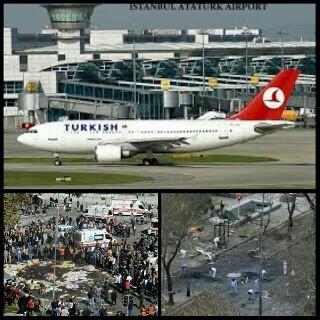 Bandara Ataturk turki di perangi bom bunuh diri terorisme