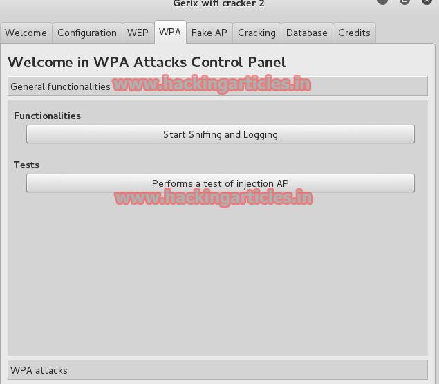 Wifi Penetration Testing using Gerix Wifi Cracker