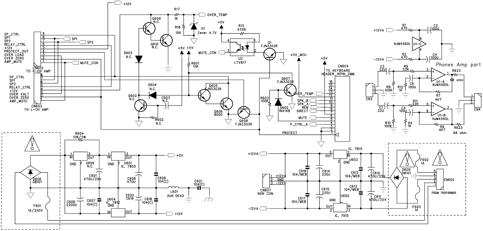 Wiring Diagram For A Technics Equalizer, Wiring, Get Free