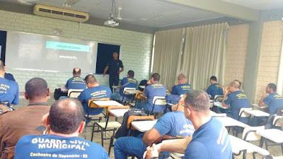 GCMs de Cachoeiro de Itapemirim (ES) iniciam aulas de tiro em agosto