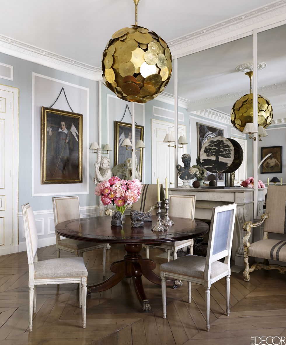 Interiors Decoration A Sophisticated Paris Pied-À-Terre By