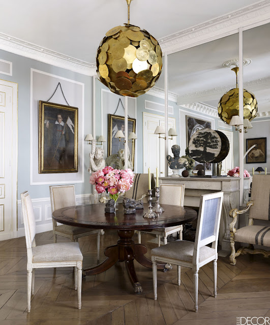 Most Beautiful Homes in Paris, a Sophisticated Paris Pied-À-Terre by Christopher Noto