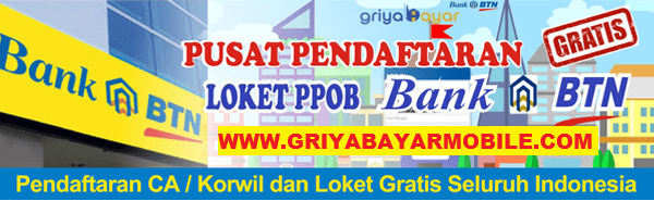 Website Pusat PPOB Griya Bayar Mobile Bank BTN
