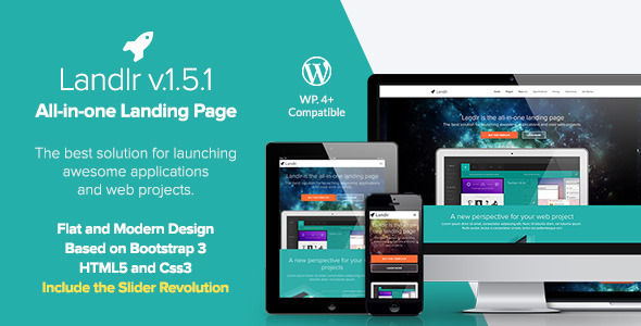 Landlr v1.5.2 – The All-in-One Landing Page – WordPress