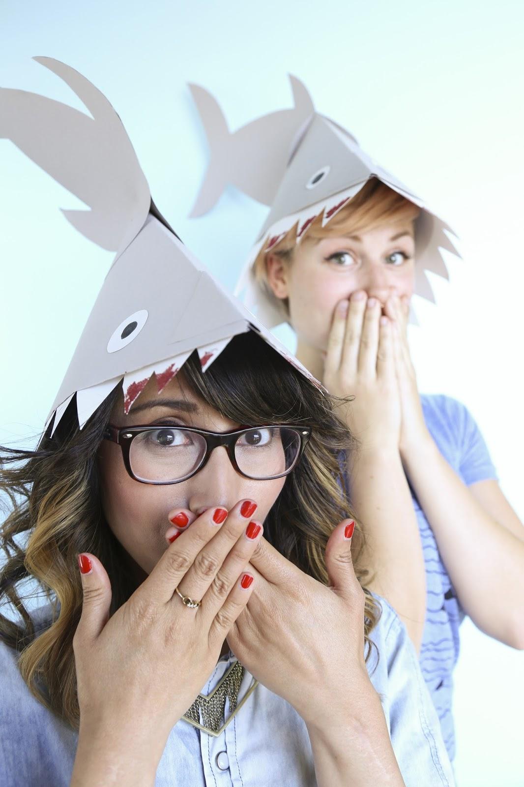 Fun DIY Shark hat by Modcloth
