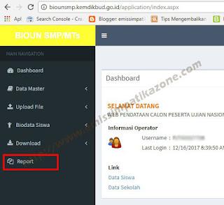 Cara Download dan Cetak DNS di BioUN