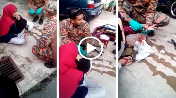 Video Budak Perempuan 12 Tahun Hampir Putus Tangan