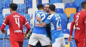 نابولي ثاني المتاهلين لربع نهائي كأس إيطاليا بعد الفوز بثنائية على فريق بيروجيا