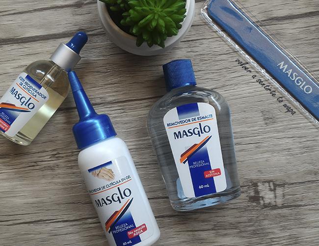 Productos para las cutículas y eliminar el esmalte de las uñas de Masglo
