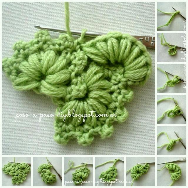 Cómo hacer un borde tejido al Crochet