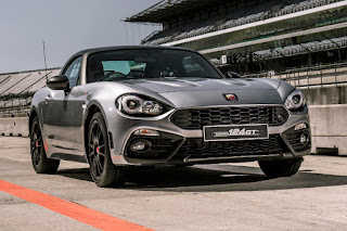 Abarth 124 GT (2018) Front Side