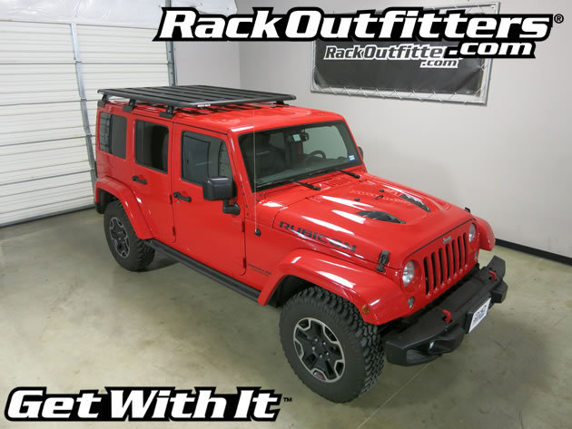 Jeep Wrangler Unlimited Rubicon Rhino-Rack BackBone ...