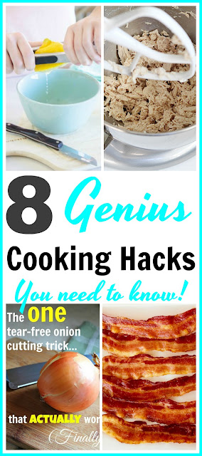 8 Genius Cooking Hacks You Need to Know