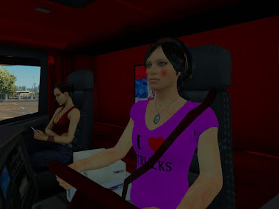 Custom Driver Skin Wanita