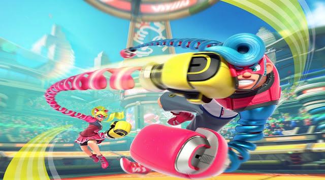 Nintendo nos enseña los personajes de ARMS