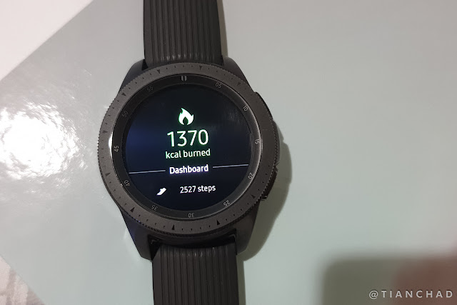 REVIEW Samsung Galaxy Watch 42mm Black