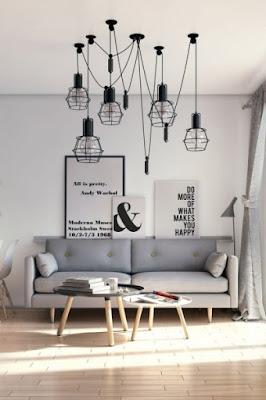 Modern Sitting Room Lighting Designs 9