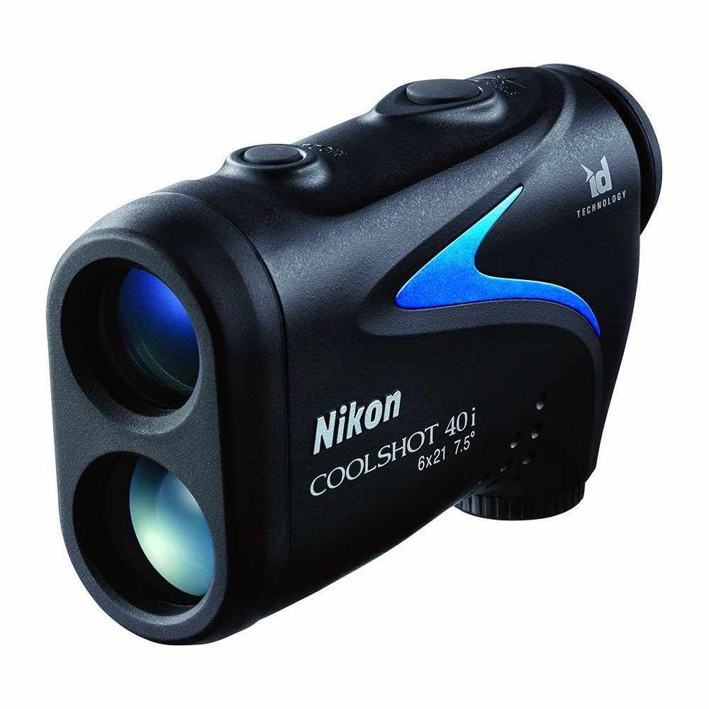 Nikon COOLSHOT 40i Golf Laser Rangefinder, with slope adjustment