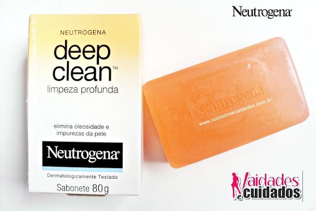 Sabonete Neutrogena Limpeza Profunda