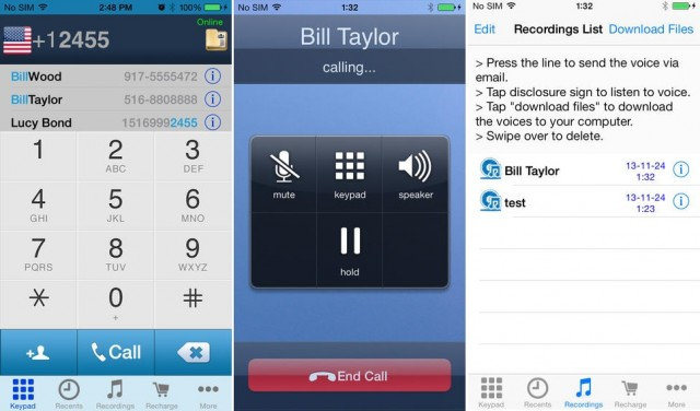 Call Recorder VoIP phone calls recorder