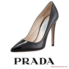 Queen Letizia wore Prada Toe Pump - Queen Letizia Style