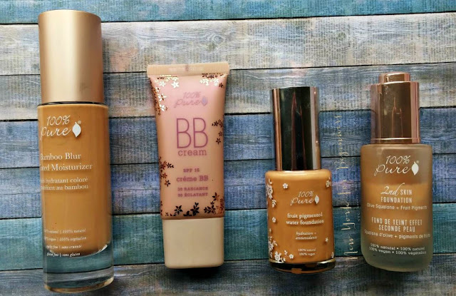 100% Pure Bamboo Blur Tinted Moisturizer, 100% Pure BB Cream, 100% Pure 2nd skin foundation review