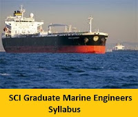 SCI Graduate Marine Engineers Syllabus