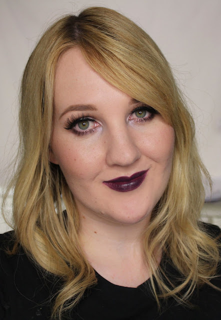 Maybelline Loaded Bolds Lipstick - Blackest Berry Swatches & Review