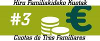 Hiru Familikide | Tres Familiares
